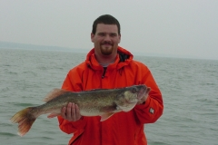 LAKE ERIE OCTOBER WALLEYE