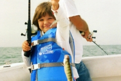 KIDS AND PERCH FISHING