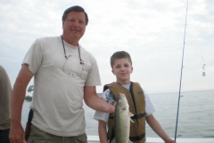thumbs johnny and grandpa walleye 2011 Fishing Photos