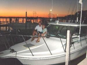 garyandpegchannelgrovepartyboatpic